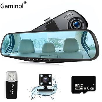 auto kamera dash cam r ckspiegel kfz video 1080p amazon. Black Bedroom Furniture Sets. Home Design Ideas