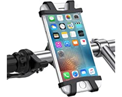 UGREEN Bike Mount Universal Cell Phone Bicycle Holder For 4-6.2 inch Phones - Compatible with iPhone 13 /13 Mini/13Pro/ 13 Pr