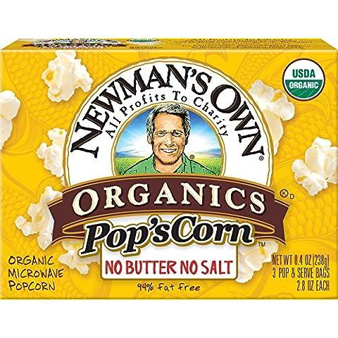 Newman's Own Organics - Corn bio microonde