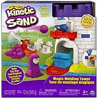 Kinetic Sand 6035825 - Torre mágica de Moldeado