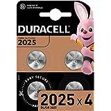 Duracell Specialty 2025 Lithium-Knopfzelle 3 V, 4er-Packung, mit kindersicherer Technologie, für die Verwendung in Schlüssela