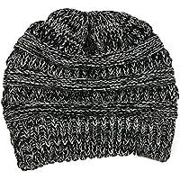 QHDZ Frauen Winter warme Strickmütze häkeln Cap