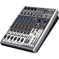 Xenyx X1204USB Mixer professionale a 12 ingressi con processore FX a 24 bit + interfaccia audio USB
