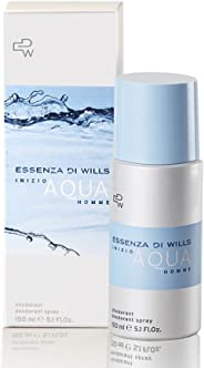 Essenza Di Wills Inizio Aqua Homme Deodorant For Men, 150ml