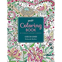 Posh Coloring Book God Is Good