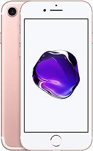 Apple iPhone 7 Smartphone débloqué 4G (Ecran : 4,7 pouces - 32 Go - iOS 10) Or Rose (Reconditionné)