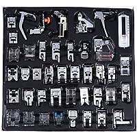 42 Unids/set Pies de Prensatelas de Costura, Máquina de Coser Multifunción Partes Trenzado