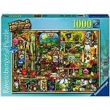 Ravensburger 19482 7 - Puzzle Grandioses Gartenregal 1000 Teile