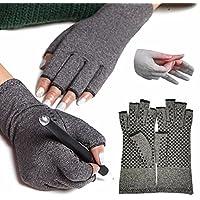 FITTOO Kompression Anti-Arthritis Handschuhe (Paar) für Damen und Herren - für Blutzirkulation, Schmerz-linderung... preisvergleich bei billige-tabletten.eu