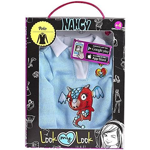 Nancy - Pullovers para muñeca, color azul (Famosa 700012071)