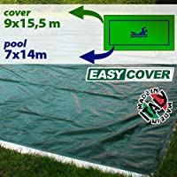Telo di copertura invernale per piscina 7 x 14 mt