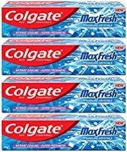 Colgate Maxfresh Toothpaste, Blue Gel Paste With Menthol For Bad Breath Treatment Super Fresh Breath, 600G, 15