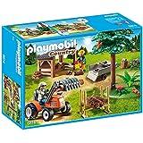 PLAYMOBIL 6814 - Holzfäller mit Traktor, Spielwerkzeug