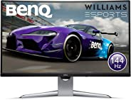 BenQ EX3203R 32 Inch QHD 2K HDR 144 Hz Curved Gaming Monitor for Sim Racing, 1800R, FreeSync 2, B.I. Plus Sensor, HDMI, Disp