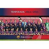 Grupo Erik Editores GPE4829 - Póster FC Barcelona Plantilla 2014/2015, 61 x 91,5 cm