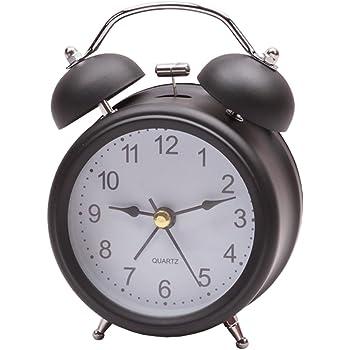 Buy Sharp Spc800 Quartz Analog Twin Bell Alarm Clock