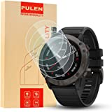 "PULEN [4 unidades] compatible con Garmin Fenix 6X Pro Solar 1.4 ""/ Garmin Fenix 6X 1.4 protector de pantalla de vidrio templa"