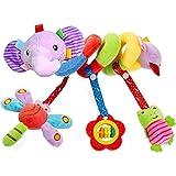Comius Sharp Juguetes Colgantes para Bebé, Cochecito de Bebé en Espiral, Juguetes para Colgar, Juguete para Cochecito de Bebé
