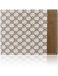 Laurels Vogue Tan & Tan Men's Wallet (Lw-Vog-0606)
