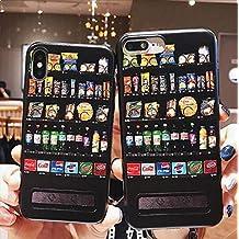 No máquina expendedora Bebidas Funda de Silicona Blanda Carcasas y Fundas para iPhone 6 7 8