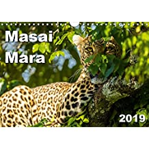 Masai Mara 2019 (Wall Calendar 2019 DIN A4 Landscape): Animals and landscapes of the Masai Mara in Kenya (Monthly calendar, 14 pages ) (Calvendo Nature)