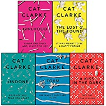 zoella book club cat clarke collection 5 books set (girlhood, the lost and the found, undone, torn, a kiss in the dark)