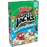 Kellogg\'s Apple Jacks Cereal with Marshmallows, 12.6 Ounce
