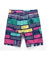 PZLL Cuadros de impresión Cacheteros en el verano, Europa, delgada absorbe la marea playa pantalones , red , l