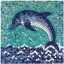 ALEA Mosaic - Kit de mosaico, tema Delfín, 20 x 20 cm (204004
