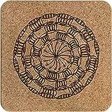 Azeeda Mandala Decorativo Corcho Salvamanteles (TR00004595)