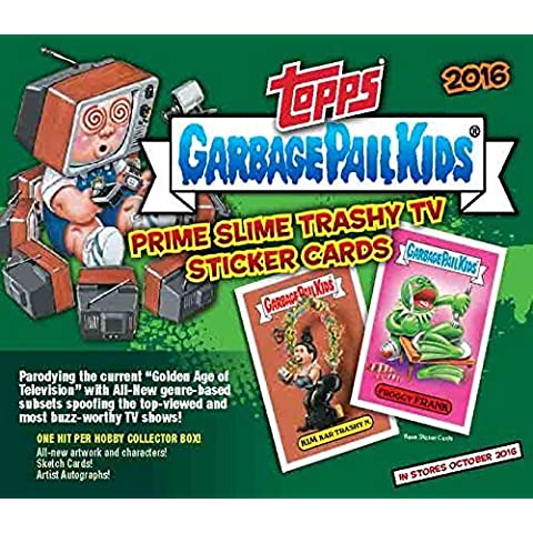 2016 Topps GPK Garbage Pail Kids Card Stickers Series 2