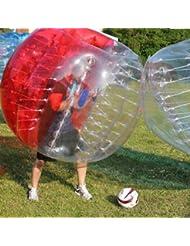 1,2m 1.5m 1,7m humana Aldaba bola pelota hinchable de Fútbol de burbuja de marco abrazadera para adulto