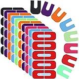Ziyero 8 Kopieën Nagellaksjablonen Vingers Nagellakbeschermer Anti-overloop Nagelkunst Basisgereedschap Accessoires Nagellakg