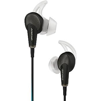 Bose QuietComfort 20 Cuffie Acoustic Noise Cancelling per dispositivi Apple, Nero