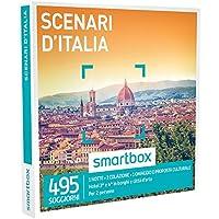 Smartbox Cofanetto Regalo - SCENARI D'ITALIA - 495 soggiorni con proposta culturale in hotel 3* e 4* in borghi e città d'arte