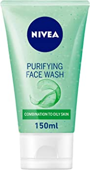 NIVEA, Face Wash, Purifying, Combination to Oily Skin, 150ml