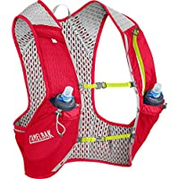 CamelBak Unisex - Adultos Nano Vest Crimson Red/Lime Punch S