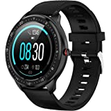 Tipmant Smartwatch, Orologio Fitness Uomo Donna Impermeabile IP68 Smart Watch Cardiofrequenzimetro da Polso Contapassi Calori