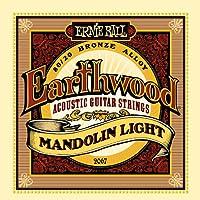 Ernie Ball Earthwood Mandolin Cuerdas de guitarra acústica de bronce de extremo 80/20-9-34 Gauge