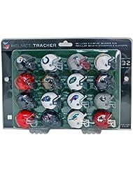 Riddell Kit de mini-casques de NFL avec tableau des Playoffs