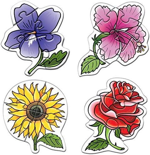 Goût élégant et et et choix distingué. Creative Early Years - Early Puzzles-Flowers | De La Mode  1626ce