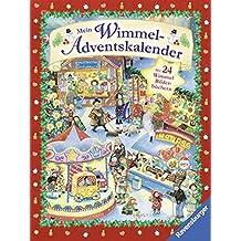 Mein Wimmel-Adventskalender: Mit 24 Wimmel-Bilderbüchern