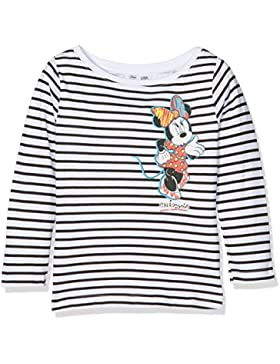 Leomil Fashion Ls Boatneck T-Shirt, Felpa Bambina