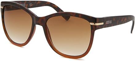 Kenneth Cole Wayfarer Men's Sunglasses Brown KC125456F55