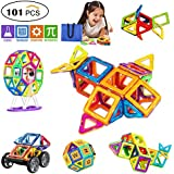 SVOC Magnetic Blocks, Magnetic Building Set Magnet Tiles Educational Toys For Kids/Toddlers/Children 101 PCS