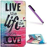 LG G4 Stylus Funda,LG G Stylo Funda Wallet Case,Carcasa LG G4 Stylus