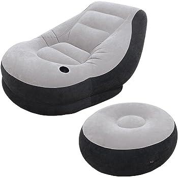 Intex Ultra Lounge Inflatable Chair Ottoman Sofa Chair Intex Sofa With Ottoman