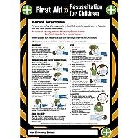Caledonia Signs 55907 Erste-Hilfe-Wiederbelebung für Kinder, 420 mm x 594 mm