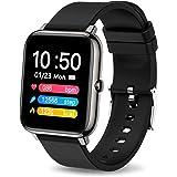 iporachx Smartwatch, Orologio Fitness Uomo Donna, Smart Watch Cardiofrequenzimetro da Polso Contapassi Sportivo Activity Trac