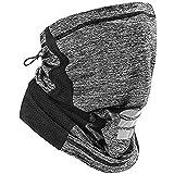 SISPHONE STONE Multifunctional Headwear Snoods For Men Face Covering Neck Gaiter Bandana